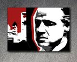 "The Godfather ""Mafia City"" Marlon Brando canvas ART"
